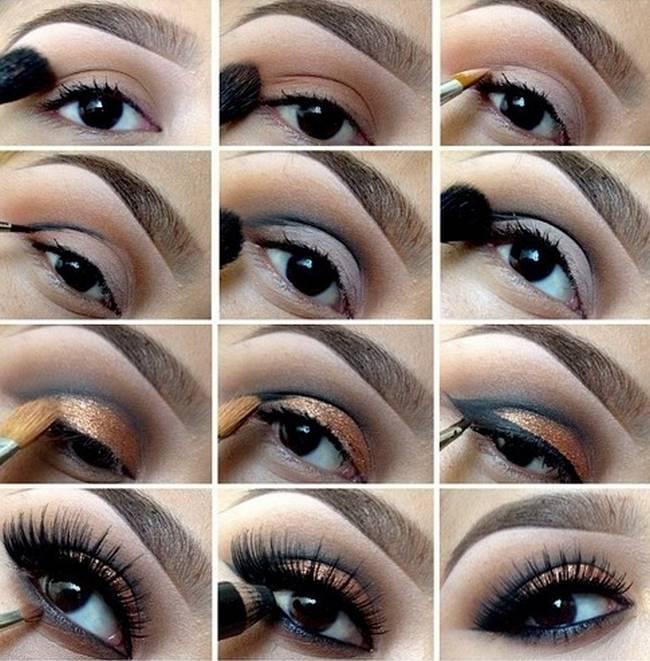 17c1104d9 مكياج عيون ، ناعم وجذاب سيجعل من عينيك لؤلؤتين ساحرتين | مجلة محطات
