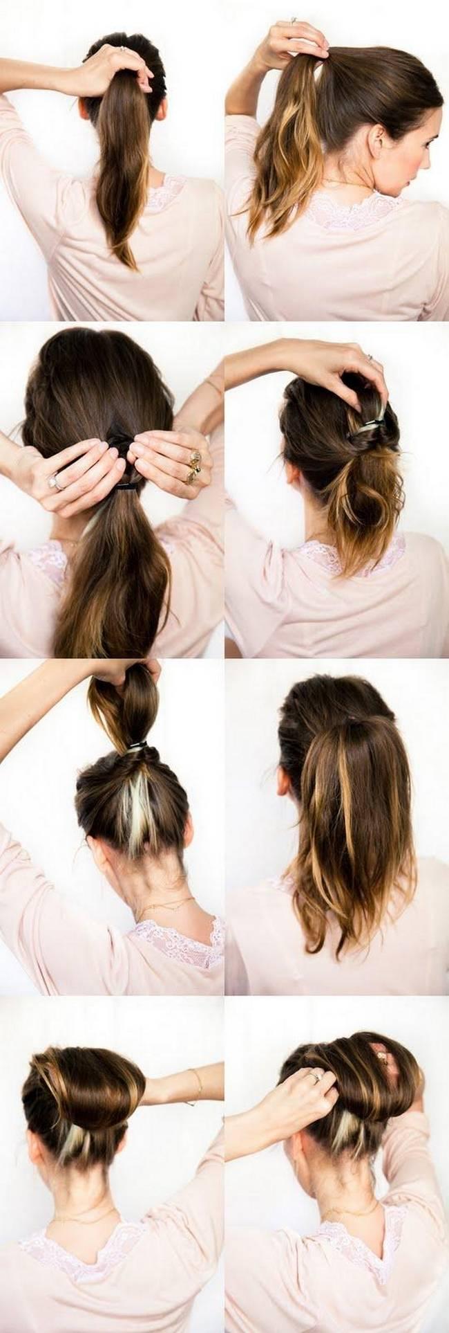 تسريحات لجميع انواع الشعر بالصور
