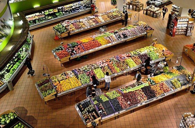 Distinctive name of the supermarket